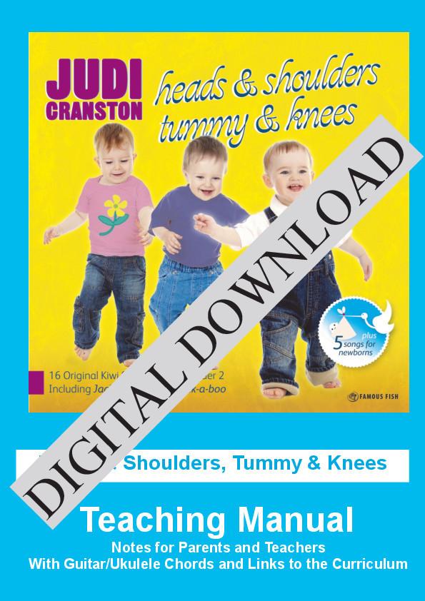 Head & Shoulders, Tummy & Knees Digital Download by Judi Cranston - Cover
