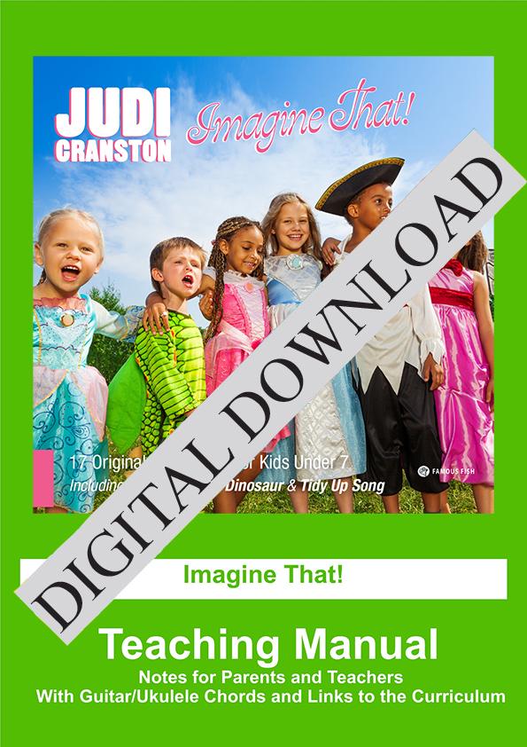 Imagine That Digital Download by Judi Cranston - Cover