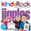 kindyRock Jiggles CD - Cover