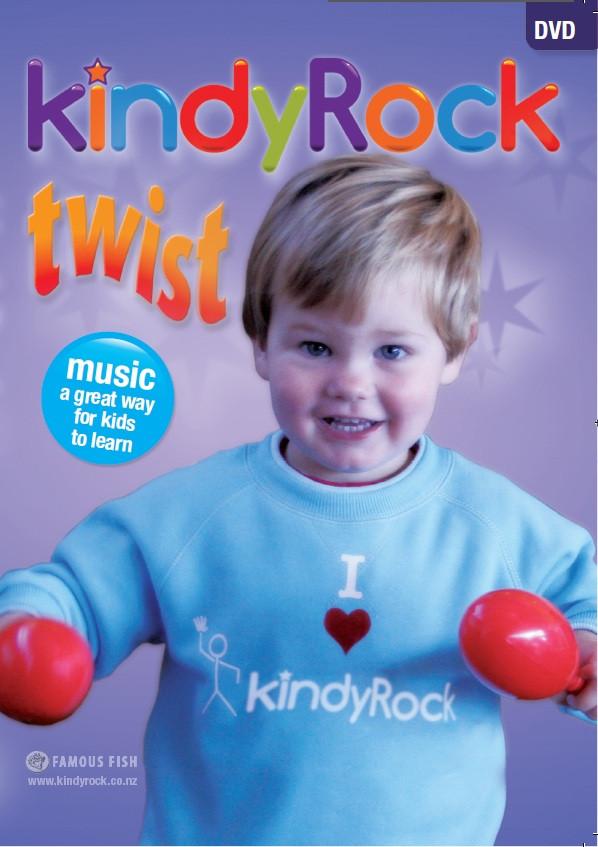 kindyRock Twist DVD - Cover