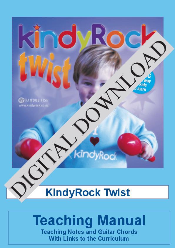 kindyRock Twist Digital Download by Judi Cranston - Cover